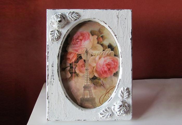Романтичная рамка в винтажном стиле