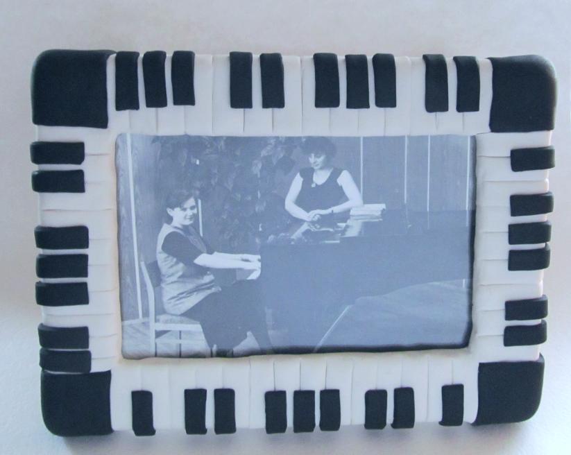 Мастер-класс: Рамка «Фортепиано»