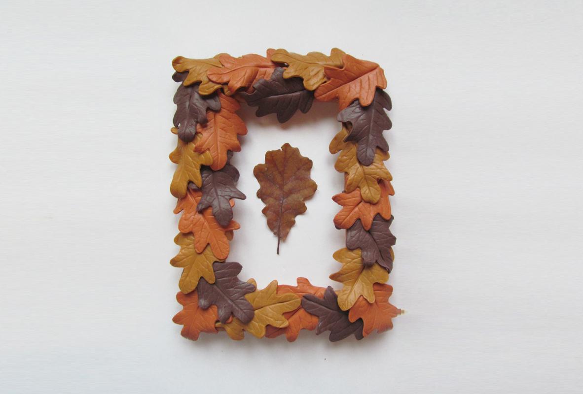 Осенняя фоторамка